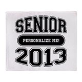Senior 2013 Throw Blanket