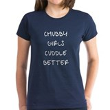 Chubby Girls Cuddle better Tee