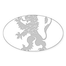 Grey Lion Rampant Decal