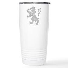 Grey Lion Rampant Ceramic Travel Mug