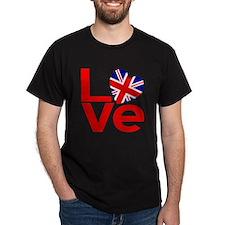 United Kingdom Red LOVE T-Shirt