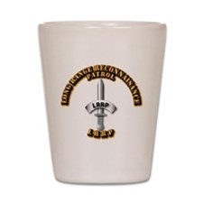 Army - Badge - LRRP Shot Glass