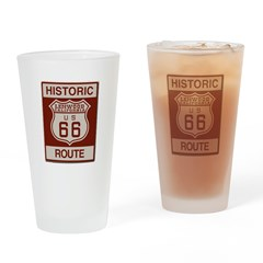 Lenwood Route 66 Drinking Glass