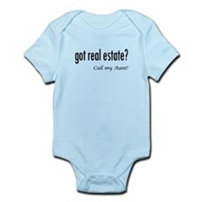 got real estate? Aunt Infant Bodysuit