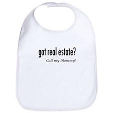 got real estate? Mommy Bib