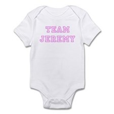 Pink team Jeremy Infant Bodysuit