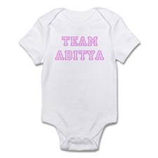Pink team Aditya Infant Bodysuit