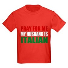 Pray Husband Italian T