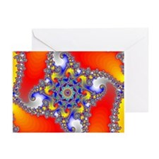 Mandelbrot fractal - Greeting Cards (Pk of 10)