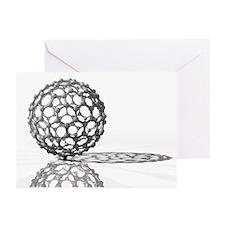 Fullerene molecule - Greeting Cards (Pk of 10)