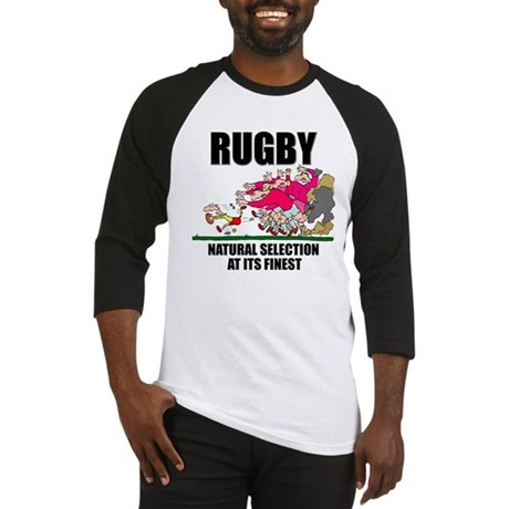 Natural Selection Rugby Baseball Jersey