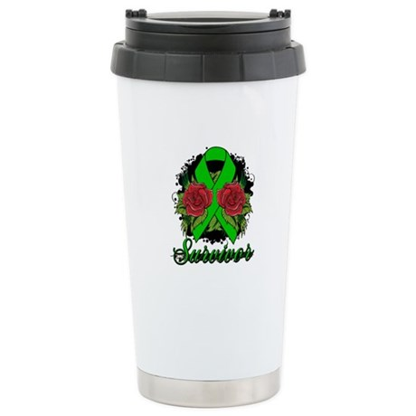 TBI Survivor Tattoo Shirts Ceramic Travel Mug