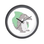 Goofy Armadillo Wall Clock