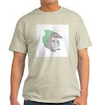 Goofy Armadillo Ash Grey T-Shirt