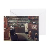 The Pharmacy, 1912 artwork - Greeting Cards (Pk of