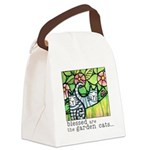 GARDEN CATS Eco-Friendly Canvas Lunch Bag