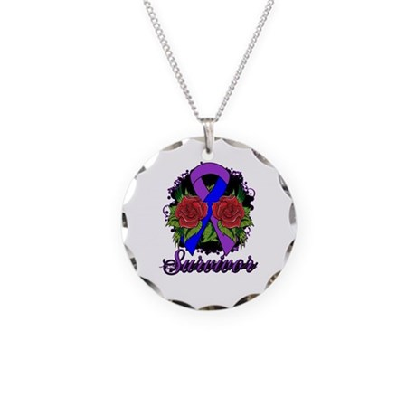 Rheumatoid Arthritis Survivor Tattoo Necklace Circ