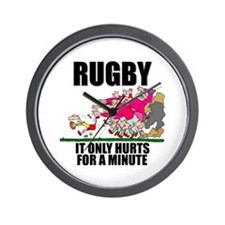 It Only Hurts Wall Clock