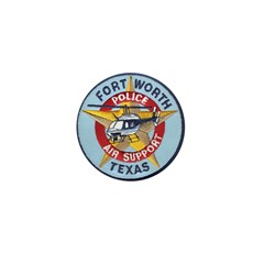 Fort Worth PD Air Unit Mini Button (10 pack)