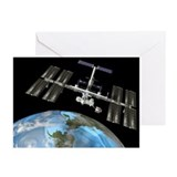 International Space Station - Greeting Cards (Pk o