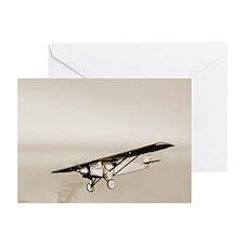 Lindbergh's Spirit of St Louis airplane - Greeting