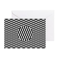 Ouchi illusion - Greeting Cards (Pk of 10)