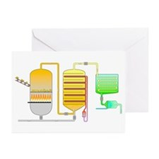 Sulphuric acid production - Greeting Cards (Pk of