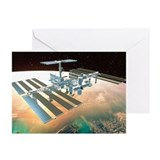 The International Space Station - Greeting Cards (