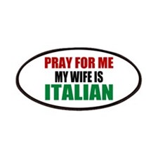 Pray Wife Italian Patches