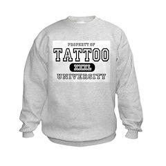 Tattoo University Kids Sweatshirt