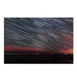 Star trails - Postcards (Pk of 8)