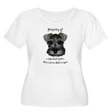 Mini Schnauzer Plus Size T-Shirt