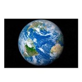 Earth from space, artwork - Postcards (Pk of 8)