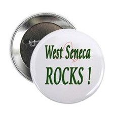 "West Seneca Rocks ! 2.25"" Button (10 pack)"