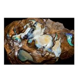 Opal in its host rock - Postcards (Pk of 8)