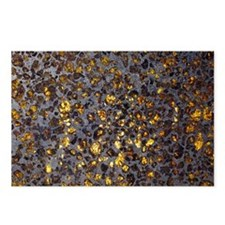 Pallasite meteorite - Postcards (Pk of 8)
