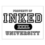 Inked University Property Small Poster