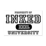 Inked University Property Mini Poster Print