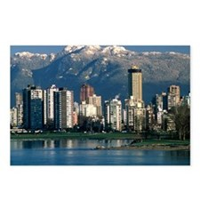 View of Vancouver, Canada - Postcards (Pk of 8)