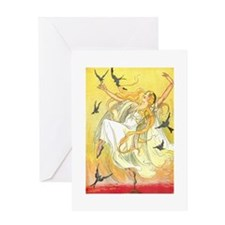 Oz Polychrome the Rainbows Daughter Greeting Card