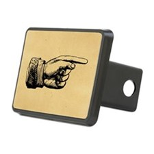 Old Fashioned Pointing Finger Hitch Cover