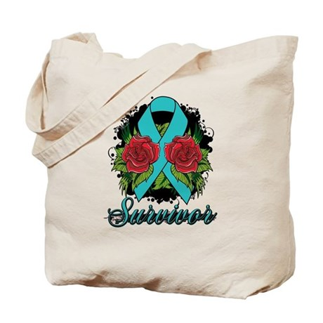 PKD Survivor Tattoo Tote Bag