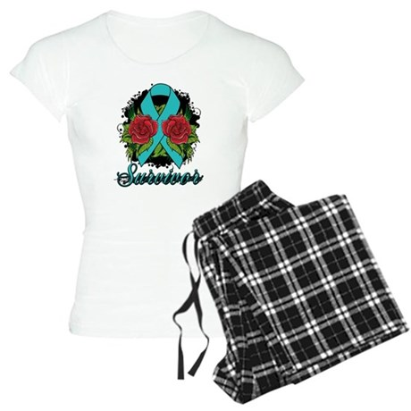 PCOS Survivor Tattoo Women's Light Pajamas