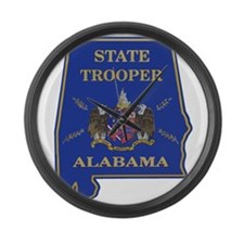 Alabama ST door seal Large Wall Clock