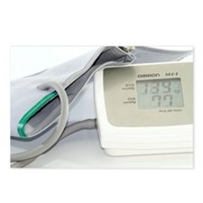 Digital blood pressure monitor - Postcards (Pk of