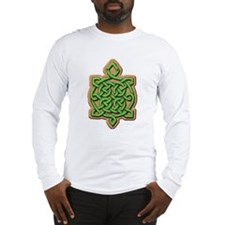Long Sleeve Celtic Turtle T-Shirt