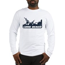 Port of Long Beach Long Sleeve T-Shirt