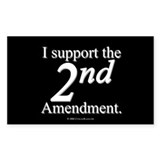 2nd Amendment Oval Decal