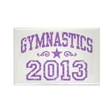 Gymnastics 2013 Rectangle Magnet