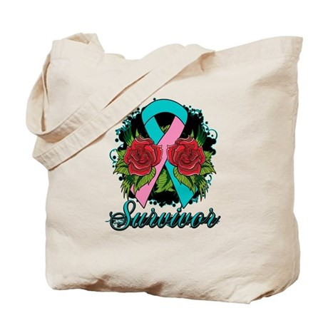 Hereditary Breast Cancer Survivor Tote Bag